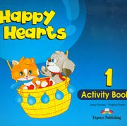 ksiazka tytuł: Happy Hearts 1 Activity Book autor: Dooley Jenny, Evans Virginia