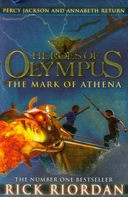 Heroes of Olympus The Mark of Athena, Riordan Rick