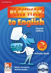 Playway to English 2 Activity Book + CD, Gerngross Gunter, Puchta Herbert