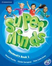 Super Minds 1 Student's Book with DVD-ROM, Puchta Herbert, Gerngross Gunter, Lewis-Jones Peter