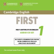 Cambridge English First 1 for Revised Exam from 2015 Audio CDs (2),
