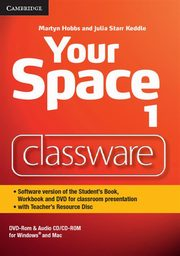 Your Space Level 1 Classware DVD-ROM with Teacher's Resource Disc, Hobbs Martyn, Keddle Julia Starr