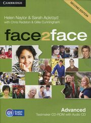 face2face Advanced Testmaker CD-ROM and Audio CD, Naylor Helen, Ackroyd Sarah, Redston Chris, Cunningham Gillie