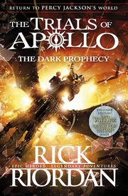 ksiazka tytuł: The Trials of Apollo The Dark Prophecy autor: Riordan Rick