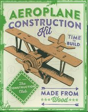 Aeroplane Consrtuction KIT,